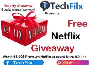 Free Netflix by Techfilx