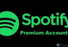 Free spotify account and password