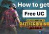 Free UC pubg mobile